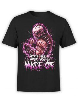 1065 Mortal Kombat T Shirt Kabal Front