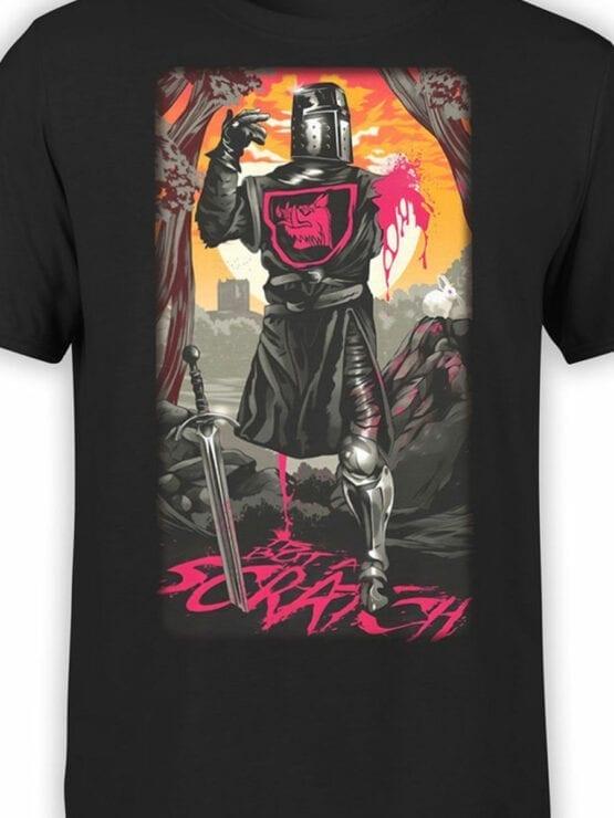 1069 Monty Python T Shirt Scratch Front Color