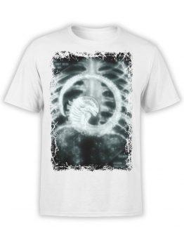 1071 Aliens T Shirt Fetus Front