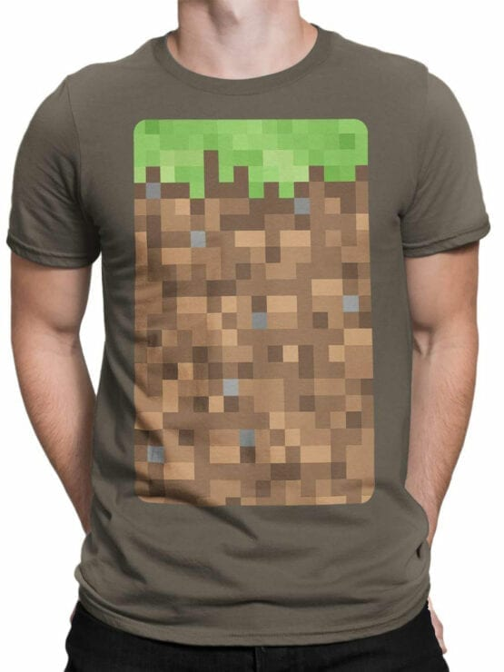 1077 Deadpool T Shirt Portrait Front Man 1