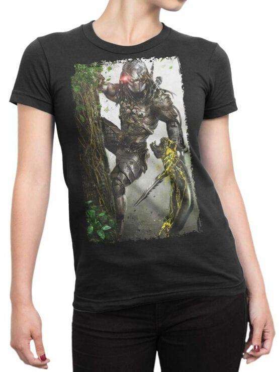 1081 Aliens T Shirt Ambush Front Woman