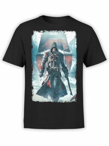 1083 Assassin's Creed T Shirt Winter Front