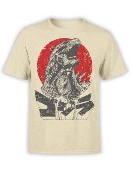 1084 Godzilla T Shirt Monster Front