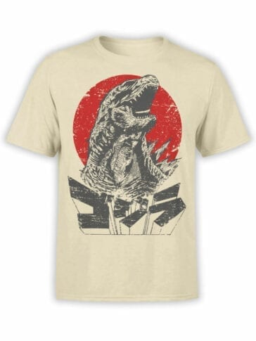 1084 Godzilla T Shirt Monster Front