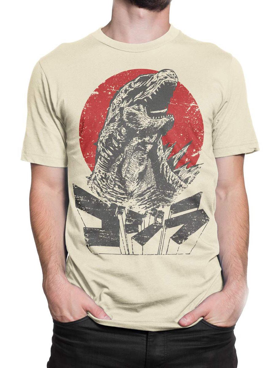e9467e2e ⭐ Godzilla T-Shirt   Roar   Awesome Movie T-Shirts #1