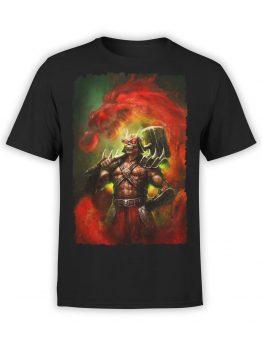 1085 Mortal Kombat T Shirt Shao Kahn Front