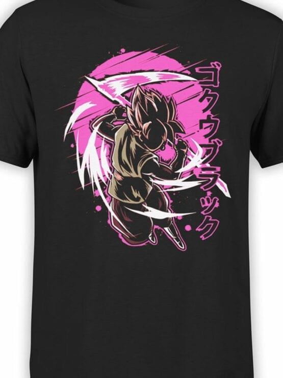 1090 Dragon Ball T Shirt Battle Front Color