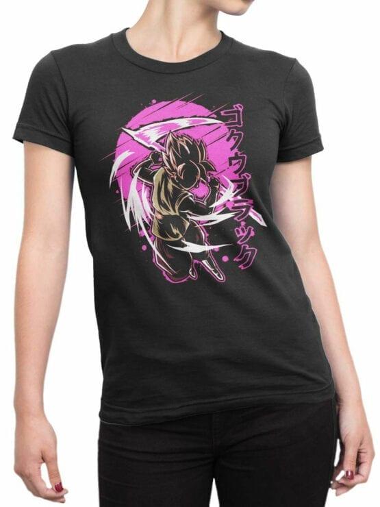 1090 Dragon Ball T Shirt Battle Front Woman