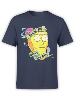 1092 Rick and Morty T Shirt Show Me Front