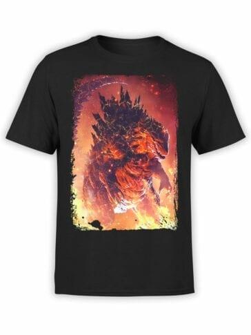 1094 Godzilla T Shirt Death Front