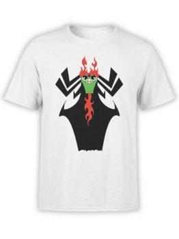 1096 Samurai Jack T Shirt Cute Aku Front