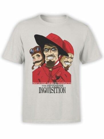 1099 Monty Python T Shirt Nobody Front