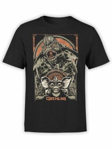 1101 Gremlins T Shirt Both Front