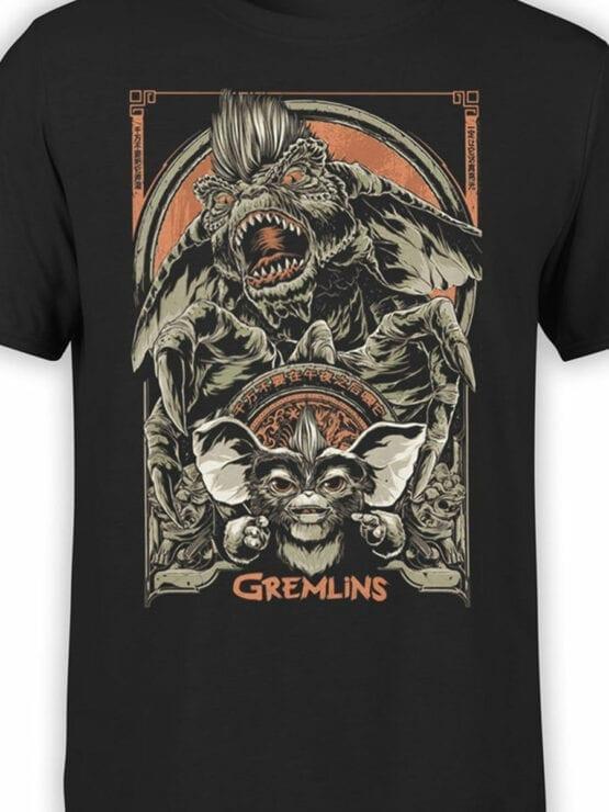 1101 Gremlins T Shirt Both Front Color