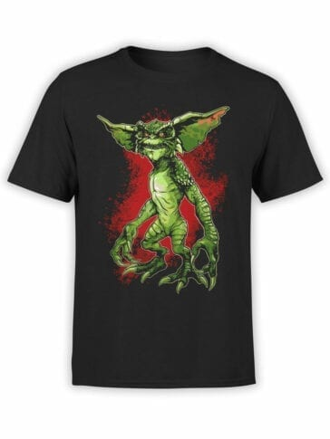 1105 Gremlins T Shirt Hey Front