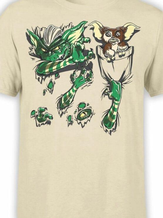 1108 Gremlins T Shirt Pocket Front Color