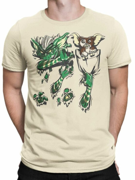 1108 Gremlins T Shirt Pocket Front Man
