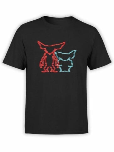 1110 Gremlins T Shirt Stereo Front