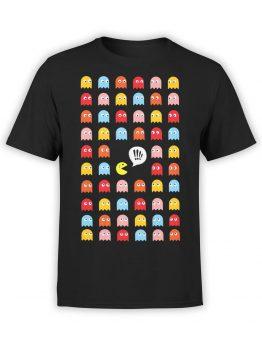 1116 Pac Man T Shirt Help Front
