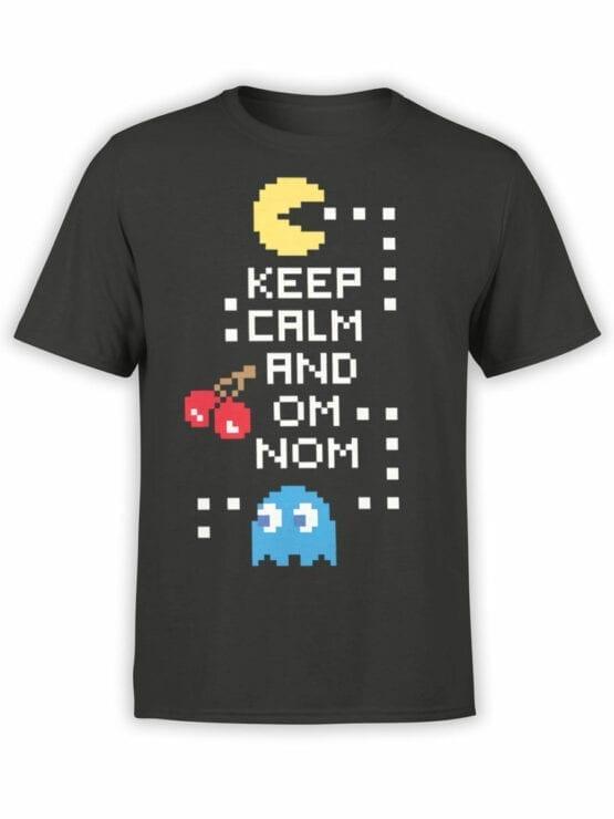 1119 Pac Man T Shirt Keep Calm Front