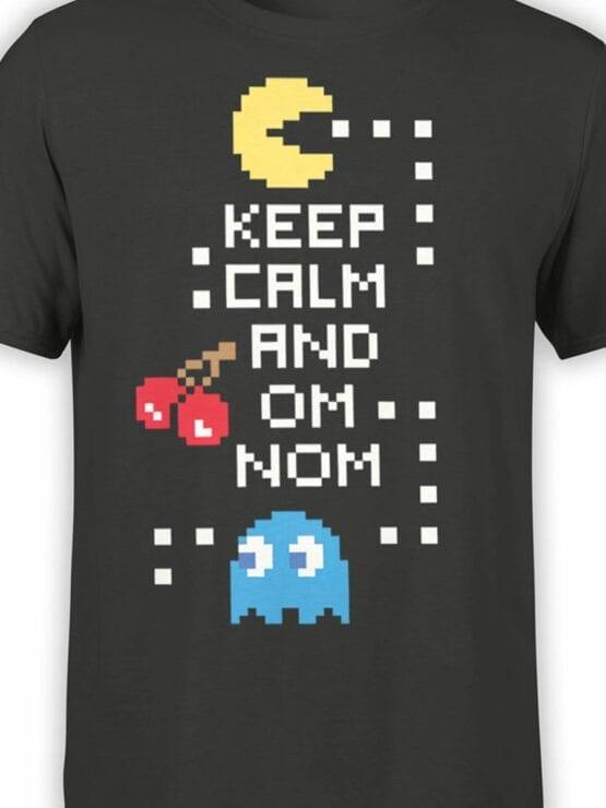 1119 Pac Man T Shirt Keep Calm Front Color