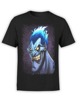 1123 Hercules T Shirt Smile of Hades Front