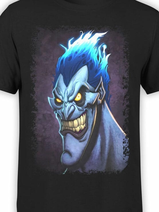 1123 Hercules T Shirt Smile of Hades Front Color