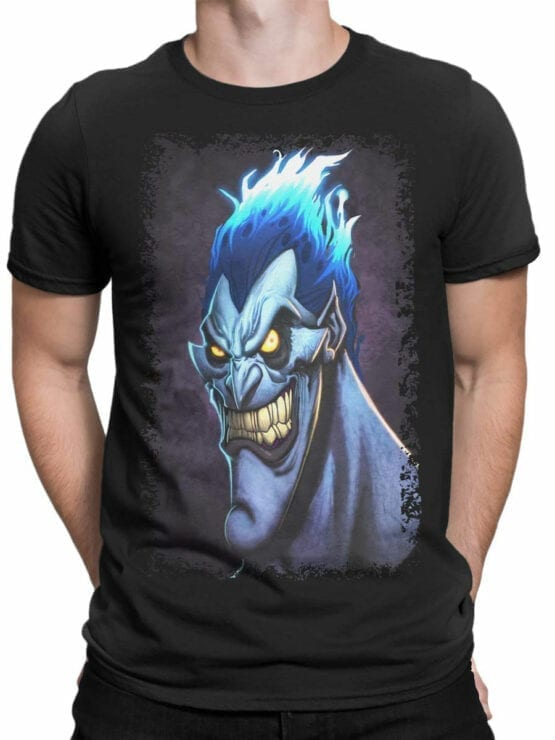 1123 Hercules T Shirt Smile of Hades Front Man