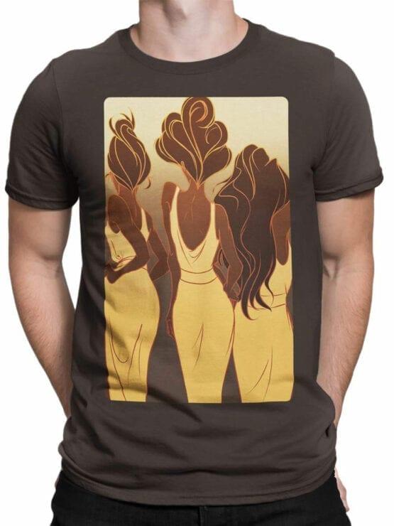 1124 Hercules T Shirt Backs Front Man