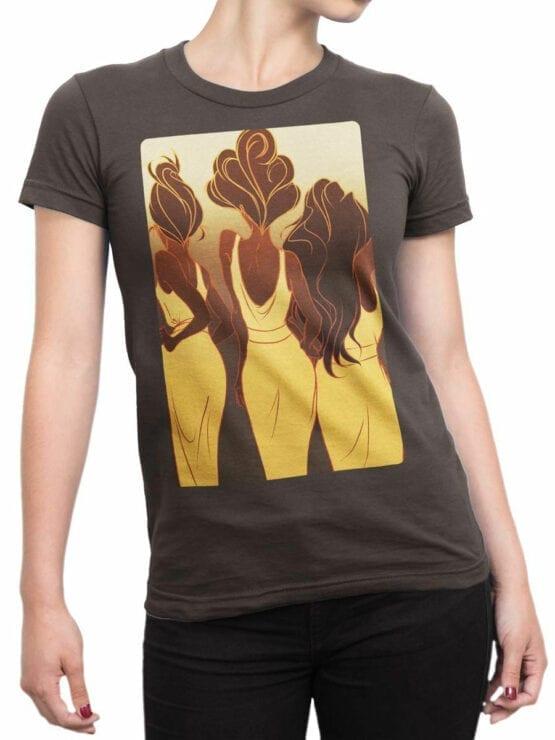 1124 Hercules T Shirt Backs Front Woman