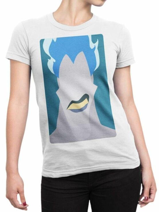 1126 Hercules T Shirt Stylized Hades Front Woman
