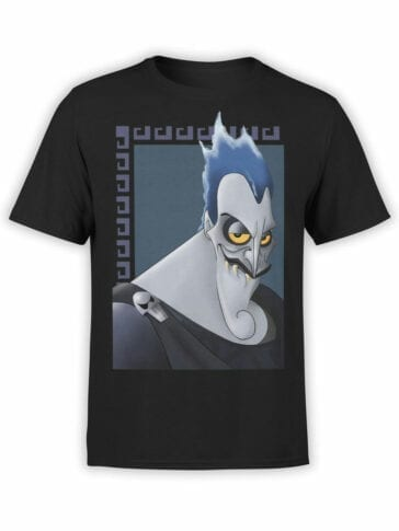 1130 Hercules T Shirt Hades Face Front