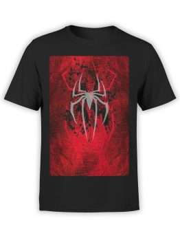 1131 Spider Man T Shirt Logo Front