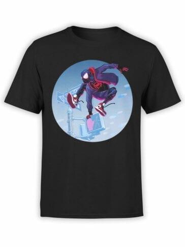 1132 Spider Man T Shirt Jump Front