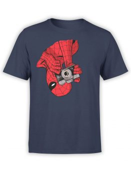 1133 Spider Man T Shirt Photo Front