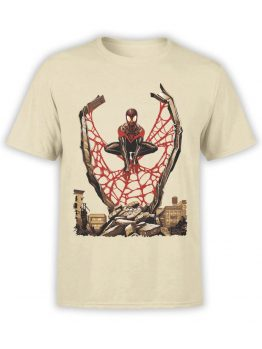 1135 Spider Man T Shirt City Front