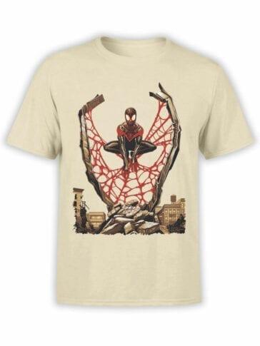 1135 Spider Man T Shirt City Front