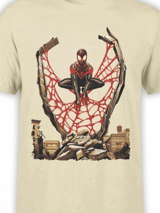1135 Spider Man T Shirt City Front Color