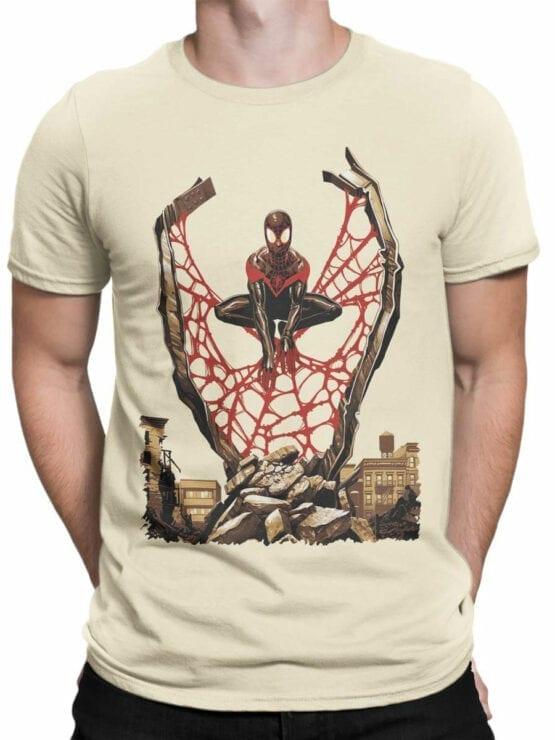 1135 Spider Man T Shirt City Front Man