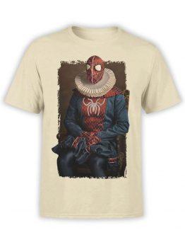 1136 Spider Man T Shirt Portrait Front