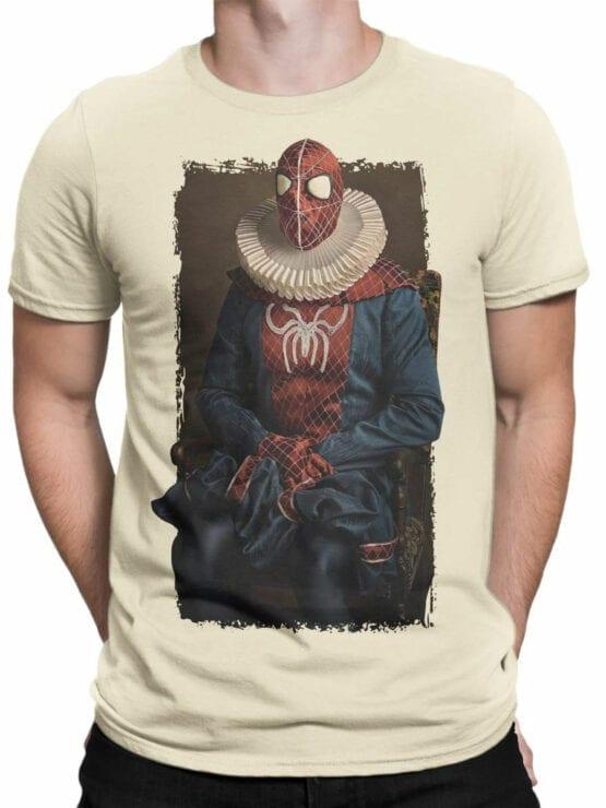 1136 Spider Man T Shirt Portrait Front Man