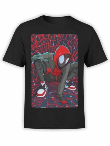 1138 Spider Man T Shirt Cool Front