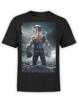 1143 Popeye T Shirt Strong Front