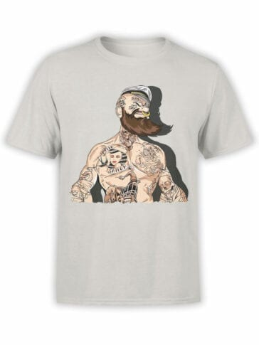1144 Popeye T Shirt Cool Front