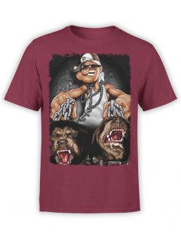 1149 Popeye T Shirt Gangsta Front