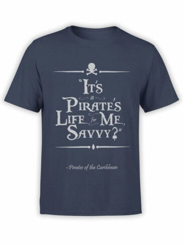 1153 Pirates of the Caribbean T Shirt Savvy Front