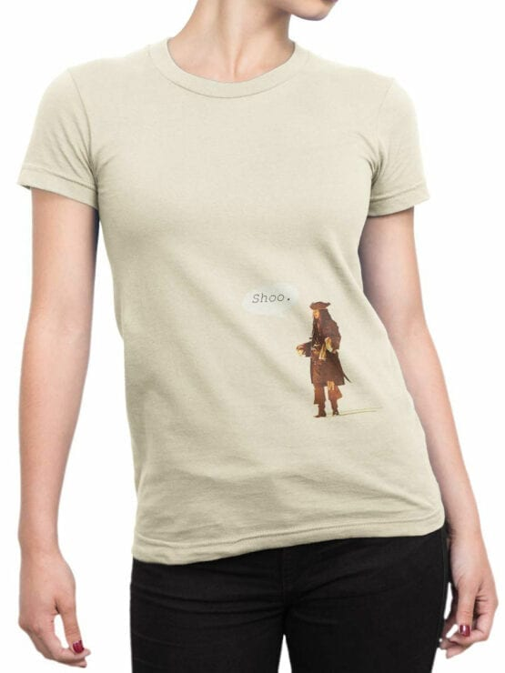 1155 Pirates of the Caribbean T Shirt Shoo Front Woman