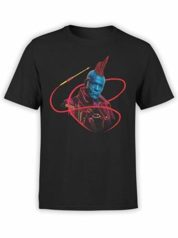 1180 Guardians of the Galaxy T Shirt Yondu Pirate Front