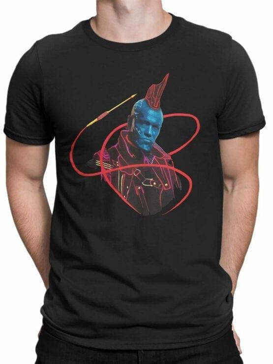 1180 Guardians of the Galaxy T Shirt Yondu Pirate Front Man