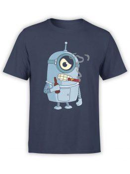 1181 Futurama T Shirt Minibender Front